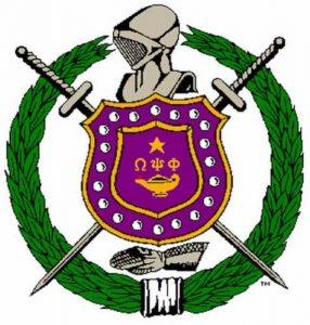 Omega Psi Phi logo